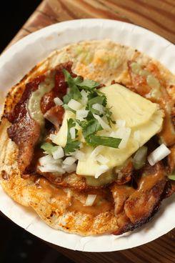 The signature taco.
