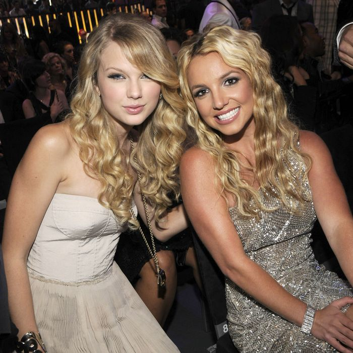 Taylor Swift and Britney Spears.