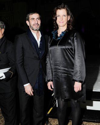 Marc Jacobs and Bridget Foley.