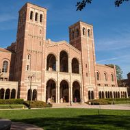Royce Hall on the UCLA Campus