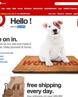 The new Target.com.