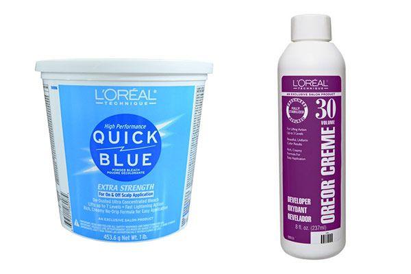 L'Oréal Quick Blue Powder Bleach