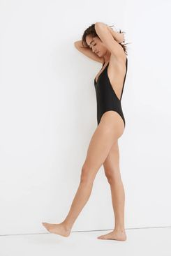 Madewell Second Wave Maillot One-Piece Swimsuit