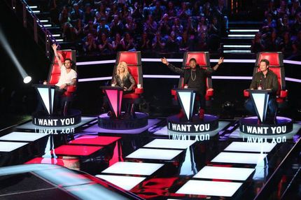 "THE VOICE -- ""Blind Auditions"""