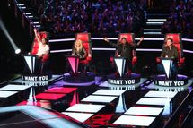 """THE VOICE -- """"Blind Auditions"""""""
