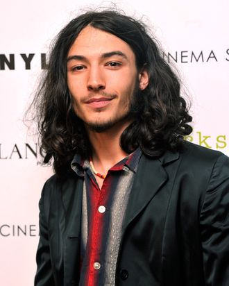 Actor Ezra Miller attends The Cinema Society special screening of
