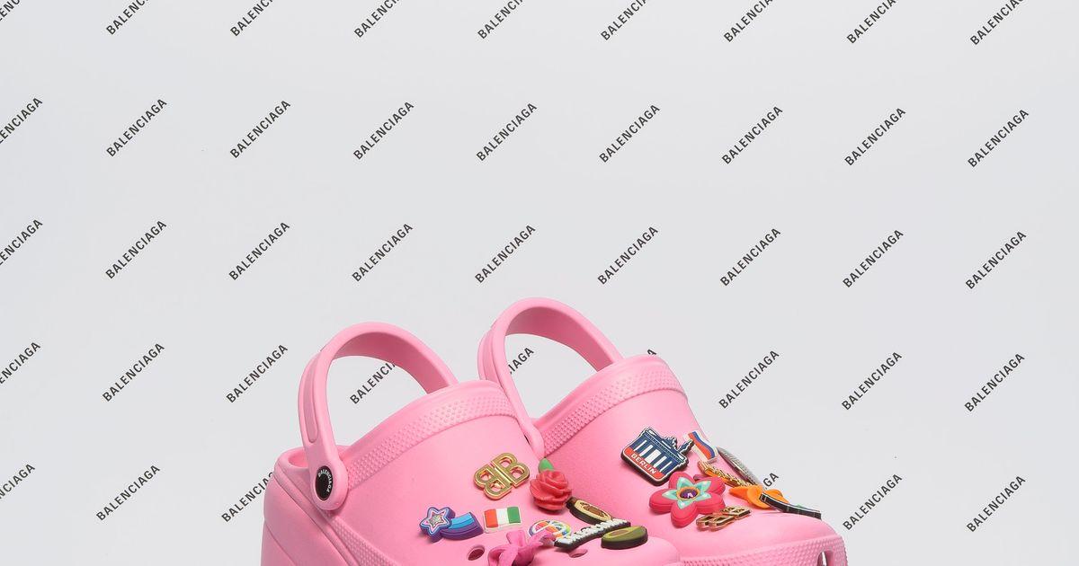 d3ef7fb0f32871 Balenciaga Introduces Platform Crocs for Spring