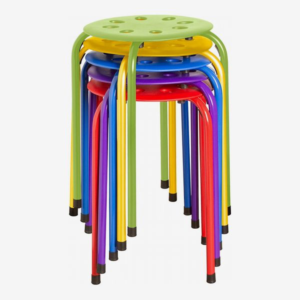 Norwood Stacking Stools, Set of 5