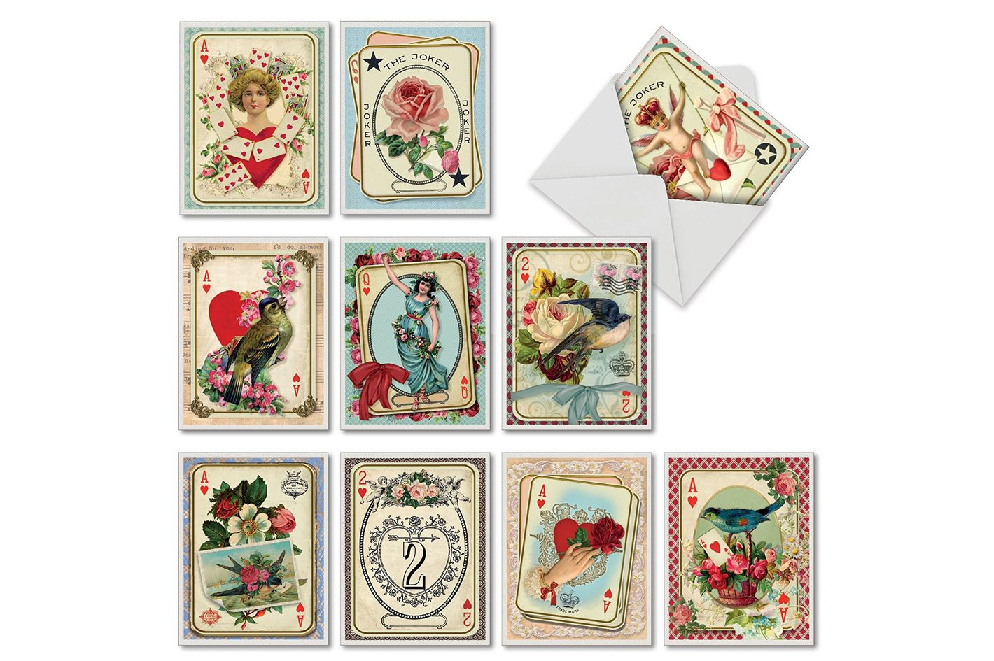 M2381VDG-B1x10 All Decked Out: 10 Assorted Valentine's Day Cards
