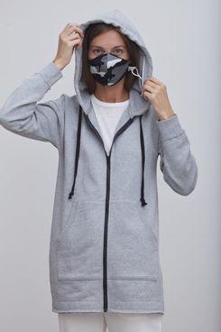 Grey State Protective Sunday Eco Hoodie