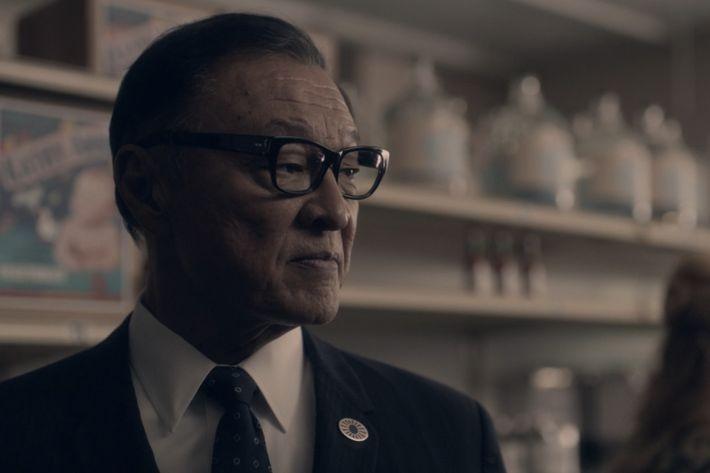 Cary-Hiroyuki Tagawa as Nobusuke Tagomi.