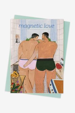 'Magnetic Love' Valentine's Day Card