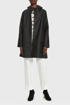 Stutterheim Mosebacke Rain Jacket in Black