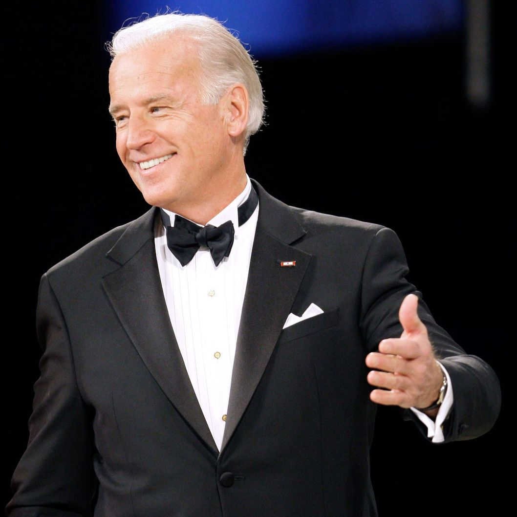 Vice President Joe Biden prepares to dance with his wife Jill during the Home States Ball, Tuesday, Jan. 20, 2009, in Washington.
