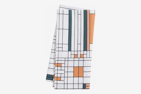 KAF Home Frank Lloyd Wright Printed Dinner Napkin 20 x 20-inch 100-Percent Cotton