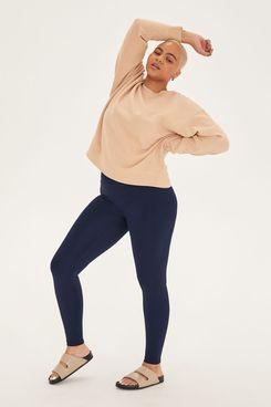 Girlfriend Collective Navy Luxe Legging
