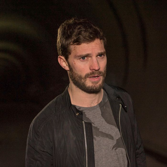 Jamie Dornan as Paul Spector.