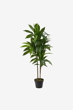 Nearly Natural 43-Inch Dracaena-Silk (Real Touch) Artificial Plant, Green
