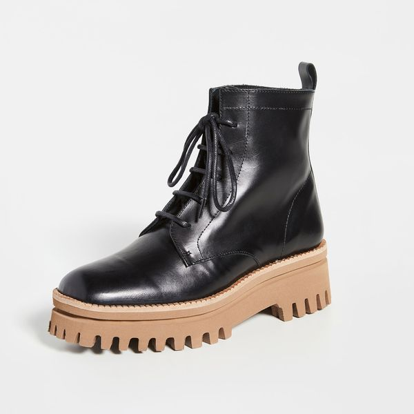 Paloma Barcelo Versalles Combat Boots
