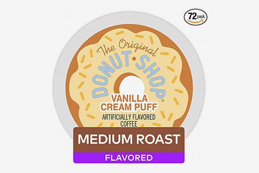 The Original Donut Shop Keurig Single-Serve K-Cup Pods, Medium-Roast Coffee, 72 count