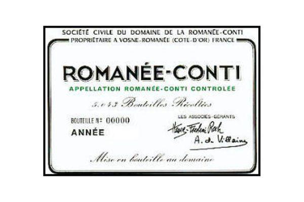 DRC Domaine de la Romanée-Conti Romanée-Conti 2014