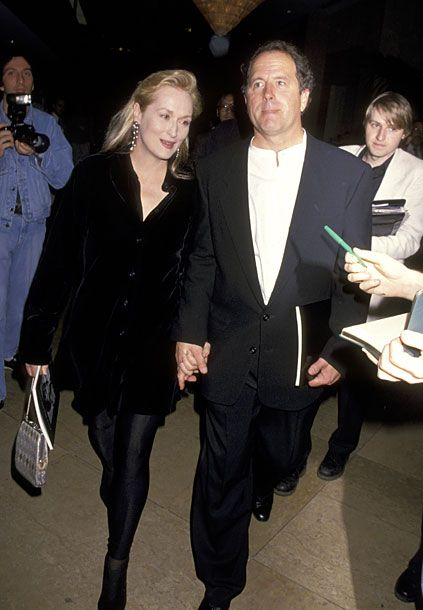 With her husband, Donald Gummer, at the 1994 Life Achievement Awards.