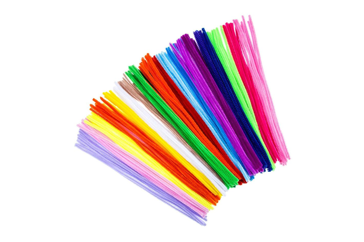 Creativity Street Chenille Stems/Pipe Cleaners — 100-Piece, Assorted Colors