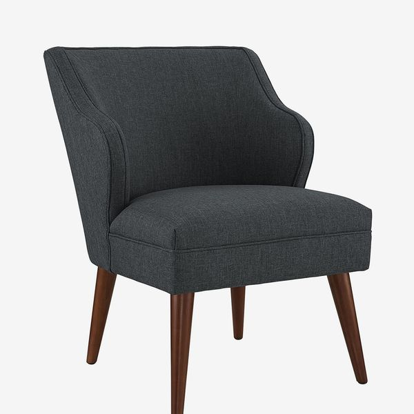 Modway Swell Mid-Century Modern Upholstered Fabric Accent Lounge Chair