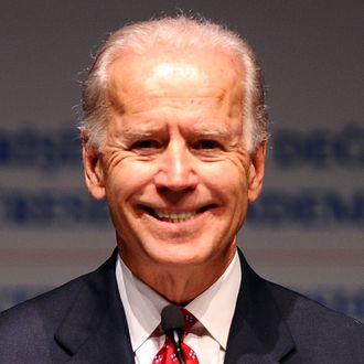 US Vice President Joe Biden gestures during the second Global Entrepreneurship Summit, on December 3, 2011, in Istanbul.