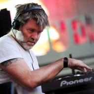 DJ James Murphy performs during CBGB Music & Film Festival 2013 at Times Square on October 12, 2013 in New York City.