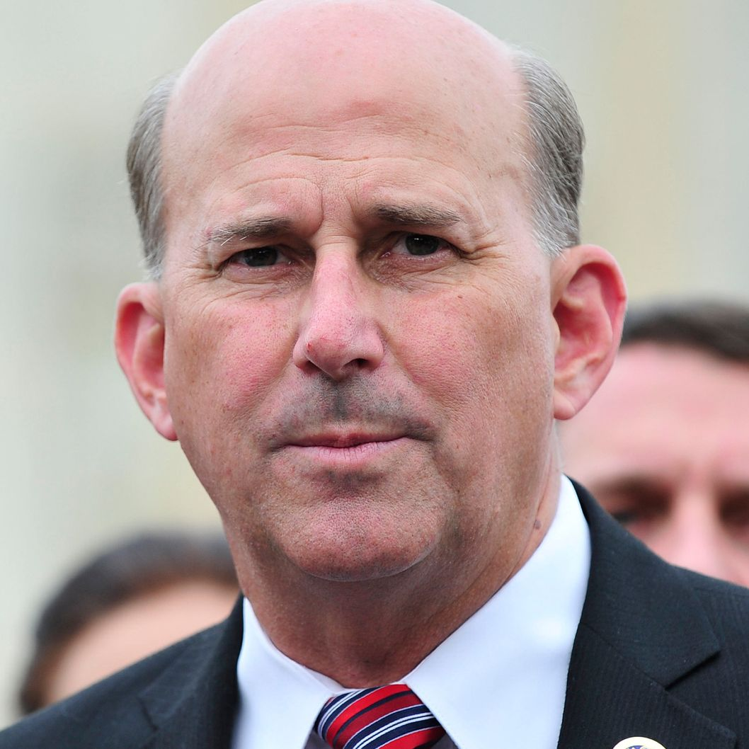 United States Representative Louie Gohmert (Republican of Texas) makes remarks after the first Tea Party Caucus meeting at the U.S. Capitol in Washington, D.C. on Wednesday, July 21, 2010..Credit: Ron Sachs / CNP