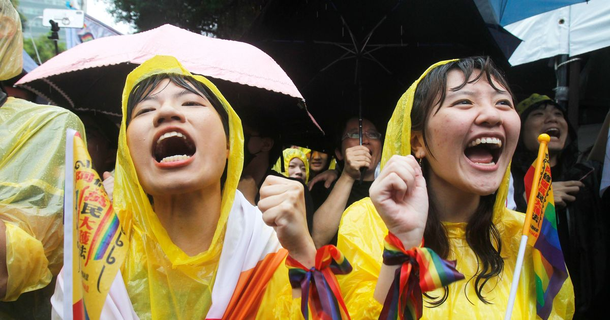 Taiwan Just Passed Asia's First Same-Sex Marriage Law
