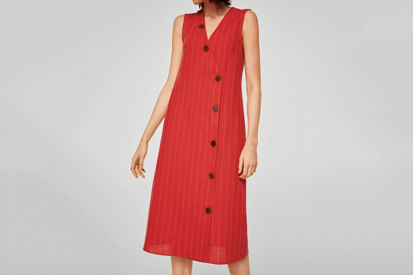 Mango Striped Linen Dress: Linen Summer Dresses For Weddings At Websimilar.org