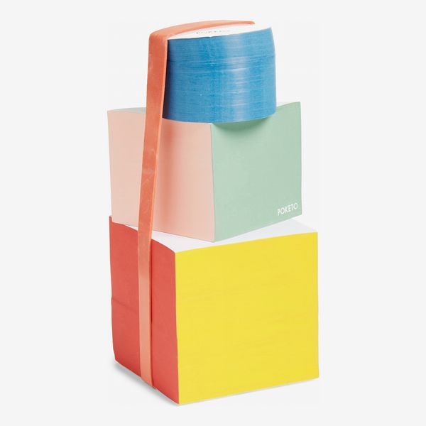 poketo tri shape block notepads - strategist nordstrom sale 2019
