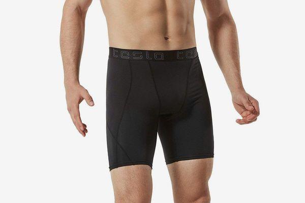 Tesla Men's Compression Shorts Baselayer