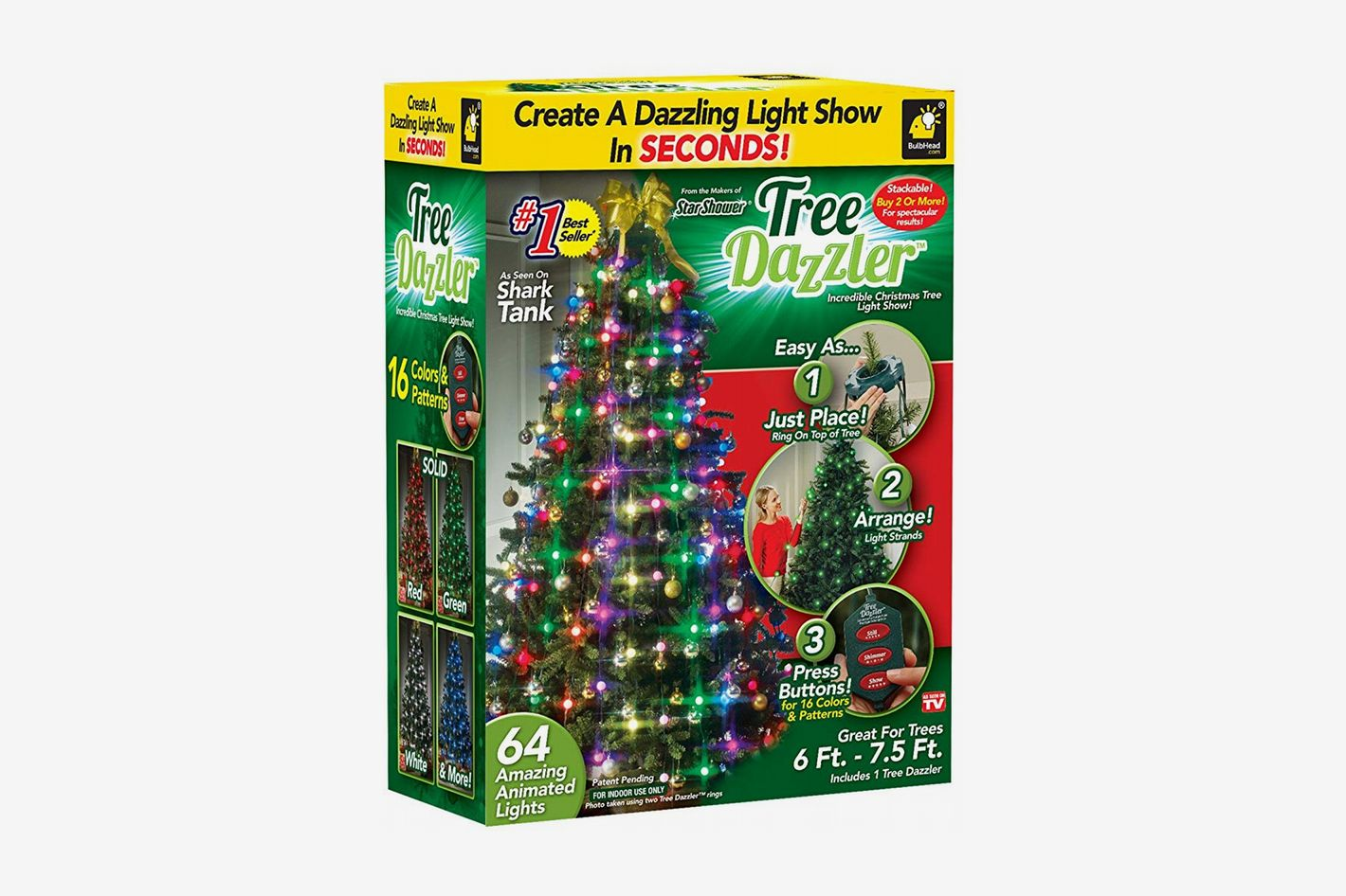 Star Shower Tree Dazzler LED Christmas Lights