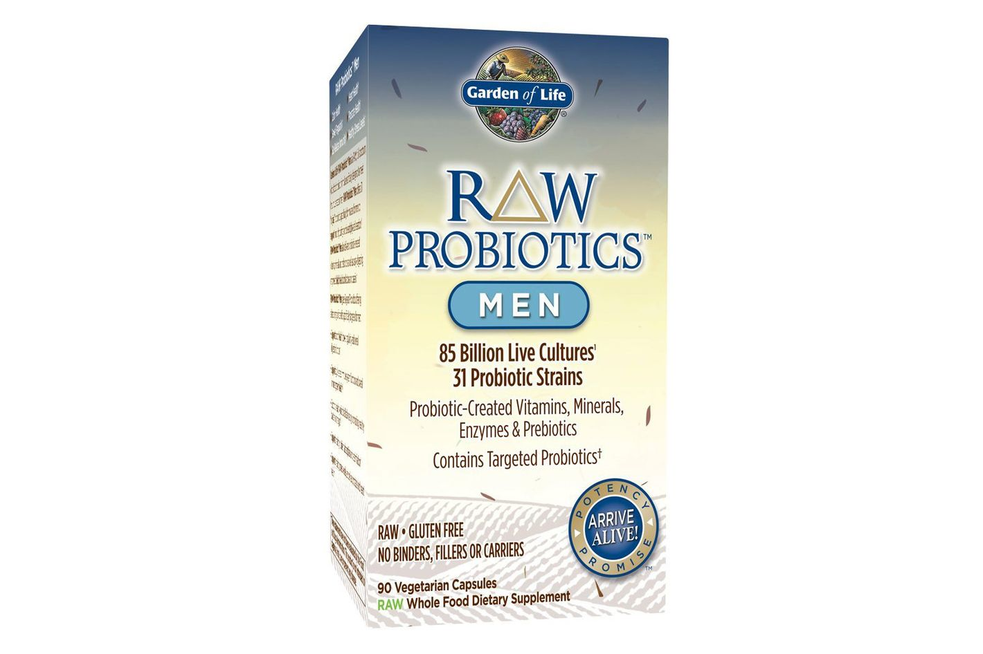 Garden of Life Raw Probiotics for Men