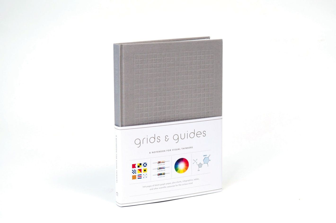 Grids & Guides (Gray): A Notebook for Visual Thinkers