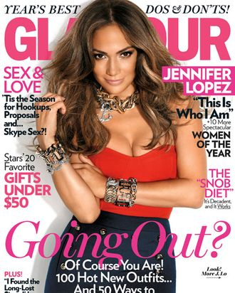 Jennifer Lopez for Glamour.