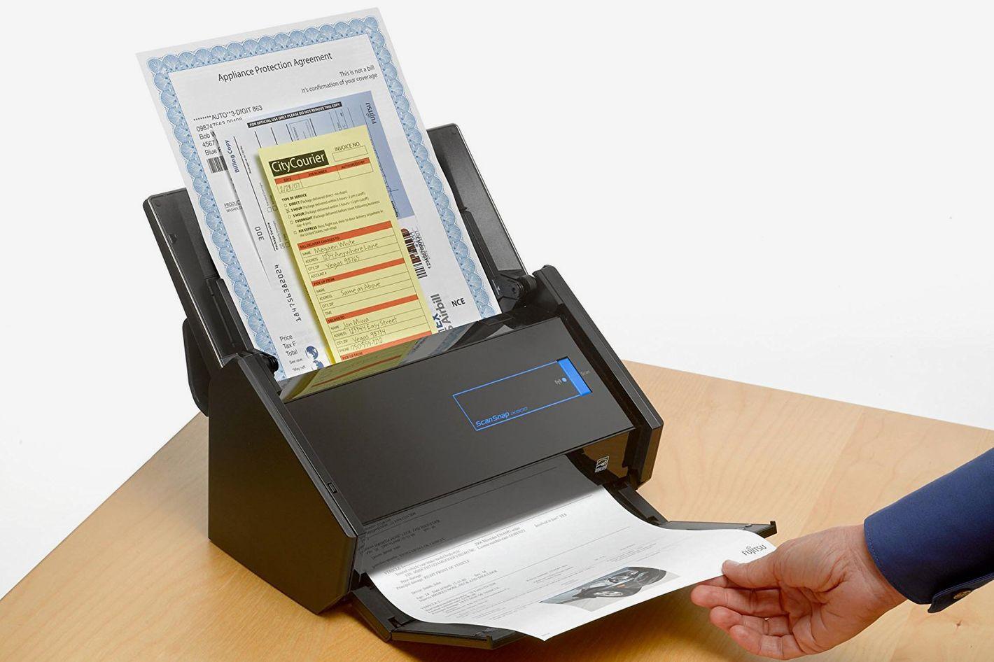 Fujitsu ScanSnap iX500 Color Duplex Desk Scanner