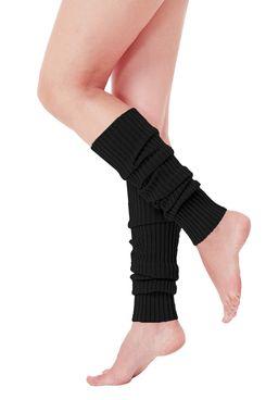 V28 Ribbed Leg Warmers