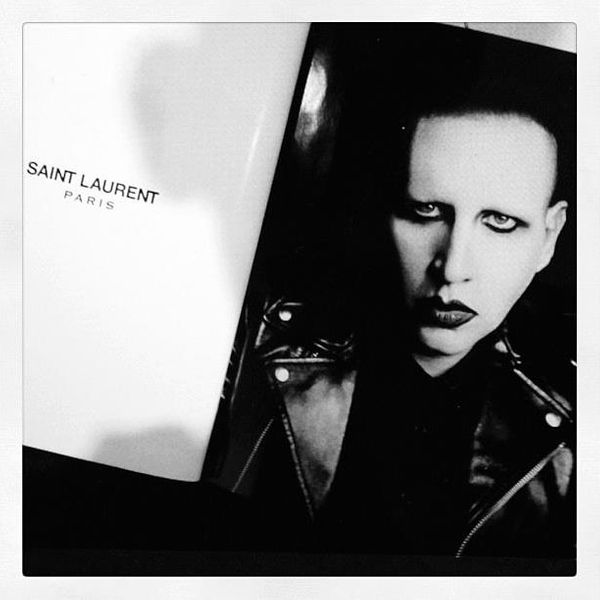 Marilyn Manson Confirmed for Saint Laurent Ads