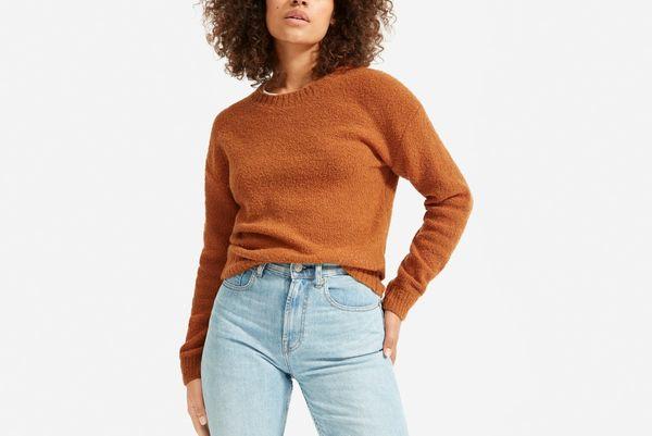 Everlane Teddy Crew Neck Sweater