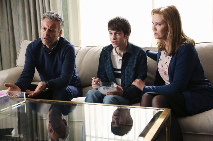 RUPERT GRAVES, LIAM JAMES, JOAN ALLEN