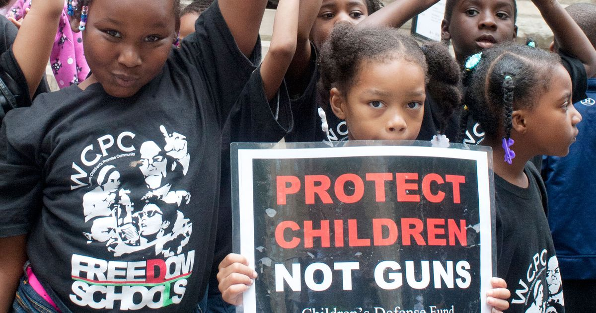 Black Kids With Gun