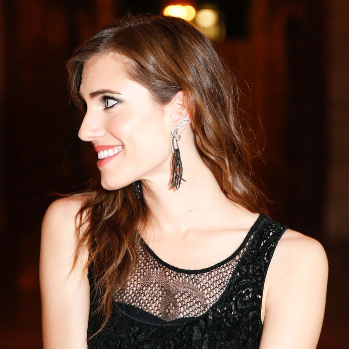 Allison Williams at the Chanel Fine Jewelry Dinner to Celebrate Treasures from the New York Public Library.