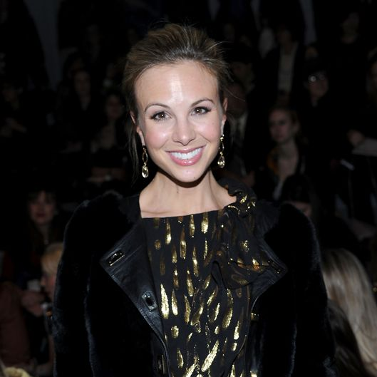 NEW YORK, NY - FEBRUARY 16:  TV personality Elisabeth Hasselbeck attends the Milly by Michelle Smith Fall 2011 fashion show during Mercedes-Benz Fashion Week  at The Stage at Lincoln Center on February 16, 2011 in New York City.  (Photo by Jason Kempin/Getty Images For IMG) *** Local Caption *** Elisabeth Hasselbeck