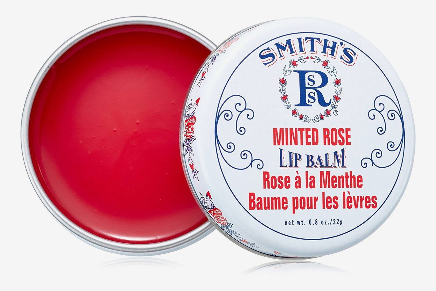 Smith's Minted Rose Rosebud Lip Balm