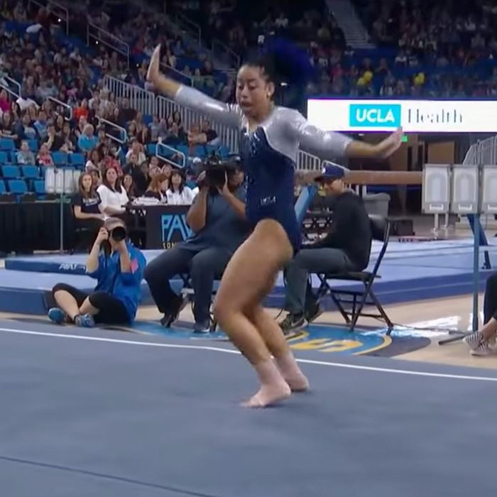 This Ucla Gymnast S Floor Routine Should Ve Been The Super Bowl