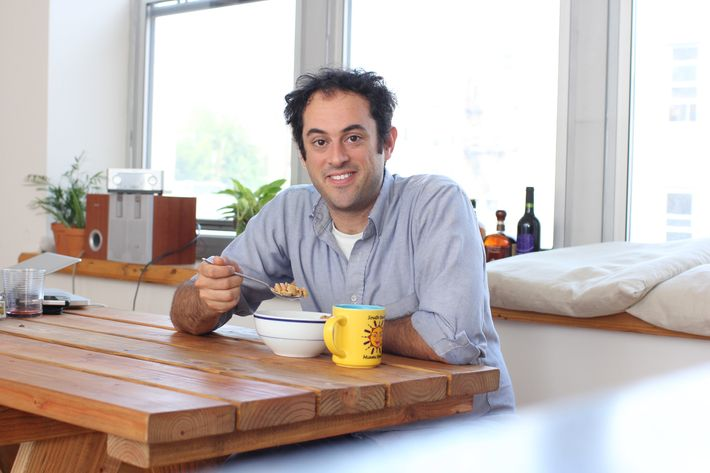 Sussman: Great chef, cereal eater.
